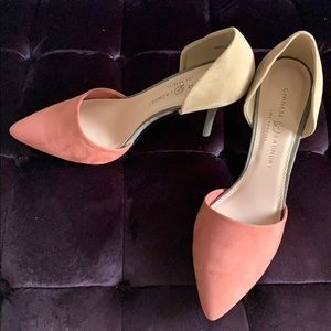 NWOT Gorgeous Chinese Laundry D'Orsay Heels Sz 11